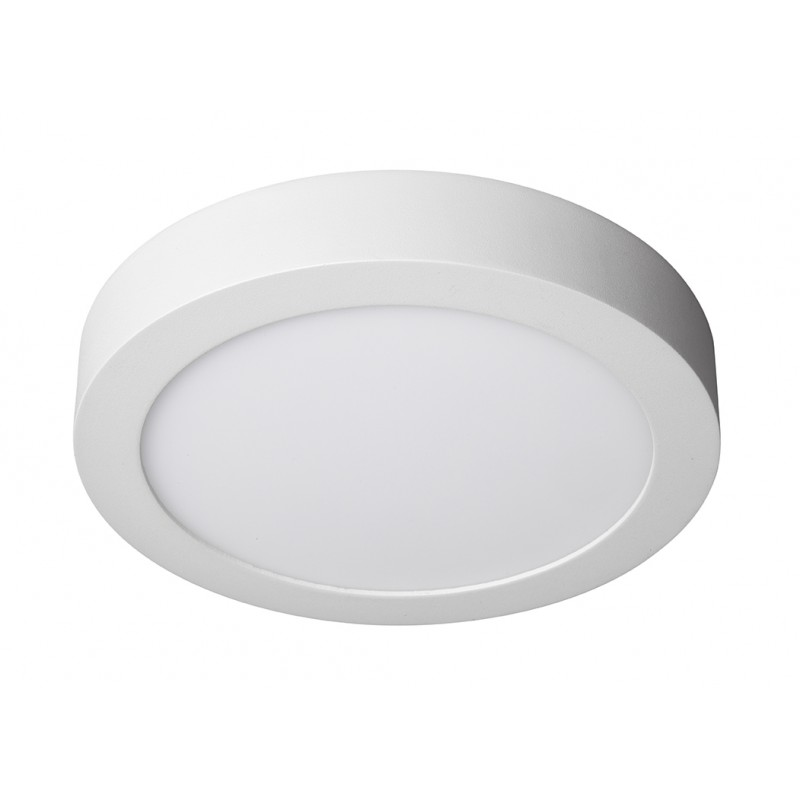 Plaf n led circular 20w iluminashop for Plafones cuadrados de pared