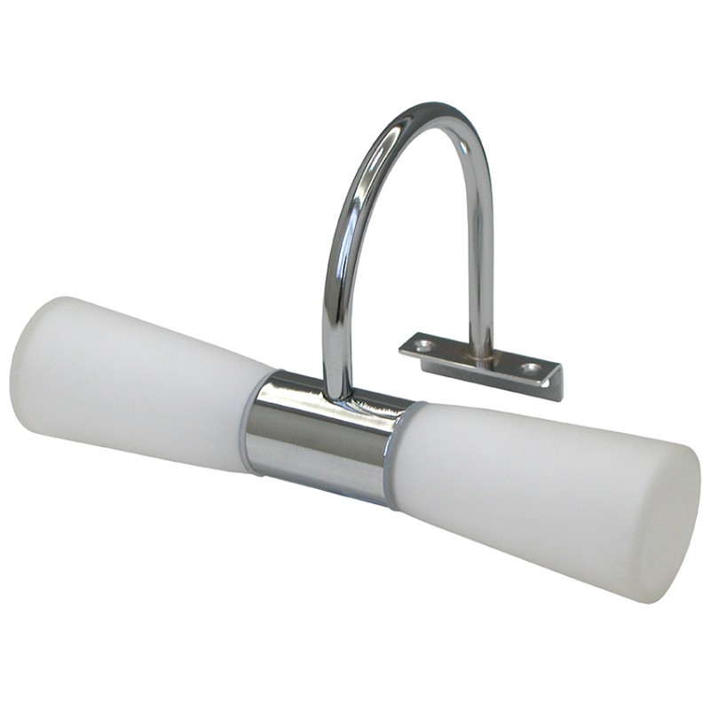 Lamparas Apliques Para Baño: LED / Apliques LED para baños / Aplique de pared baño G9 Cromo
