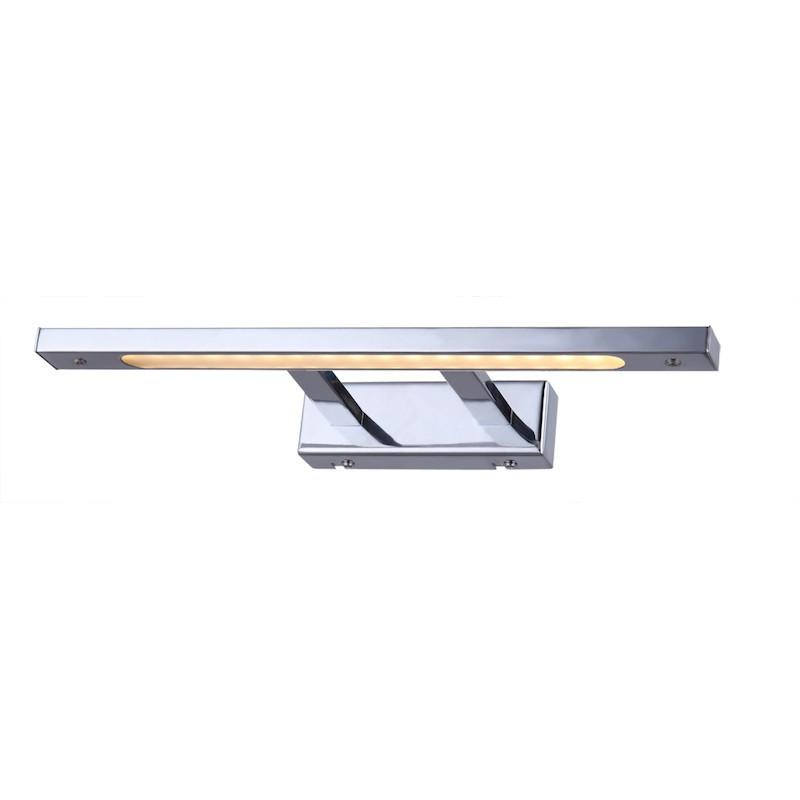 Aplique para cuadro led 18x0 2w cromo c lido iluminashop - Apliques para cuadros ...