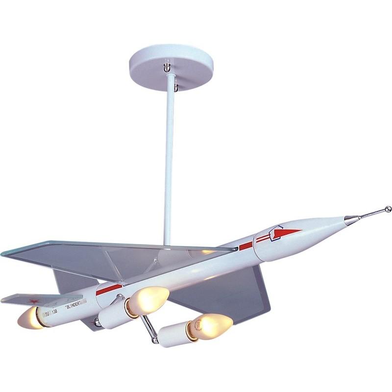 L mpara de techo infantil supersonico iluminashop - Lamparas para techo ...