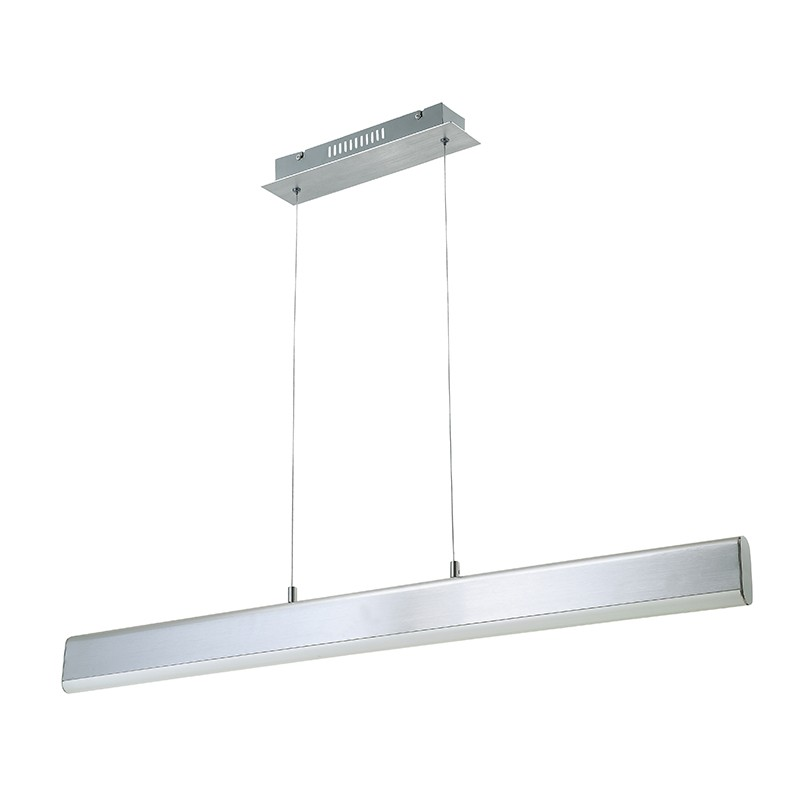 L mpara de techo led 18w aluminio anchor iluminashop - Lampara techo led ...