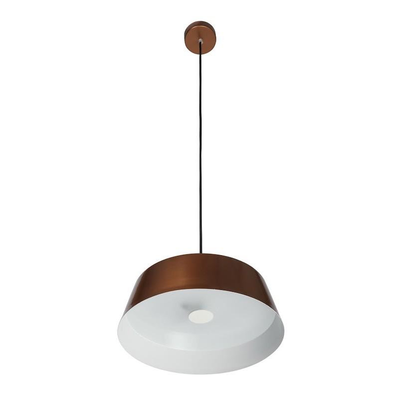 L mpara de techo led 18w cobre iron iluminashop - Lamparas decorativas de techo ...