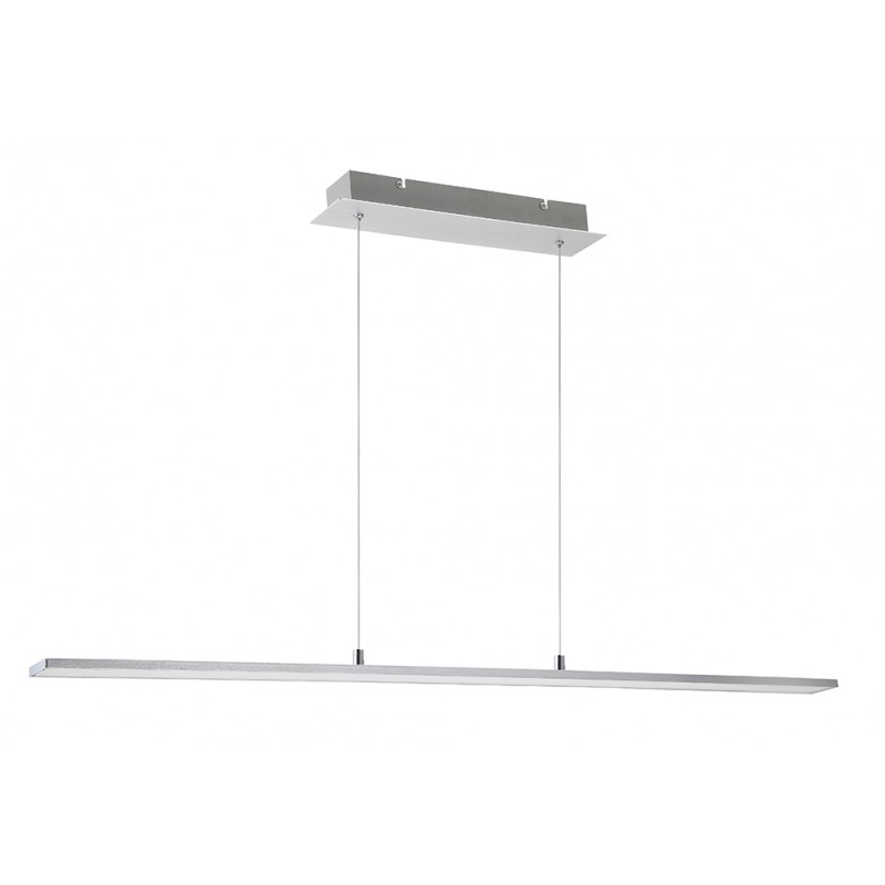 L mpara de techo led 24w aluminio alboran iluminashop - Lamparas de techo de led ...