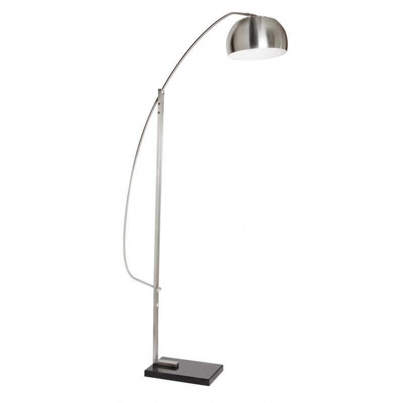 L mpara de pie pantalla metal iluminashop - Lamparas decorativas de pie ...