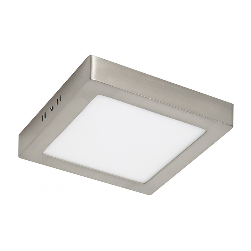 Plaf n led cuadrado n quel 18w iluminashop for Plafones cuadrados de pared