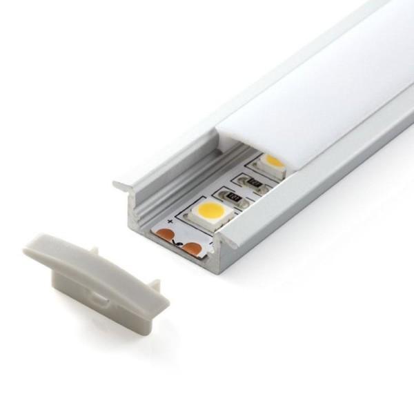 Perfil de Aluminio Tiras LED 24V
