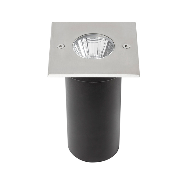 Foco led empotrable cobsoil square 10w ip67 iluminashop - Foco led empotrable ...