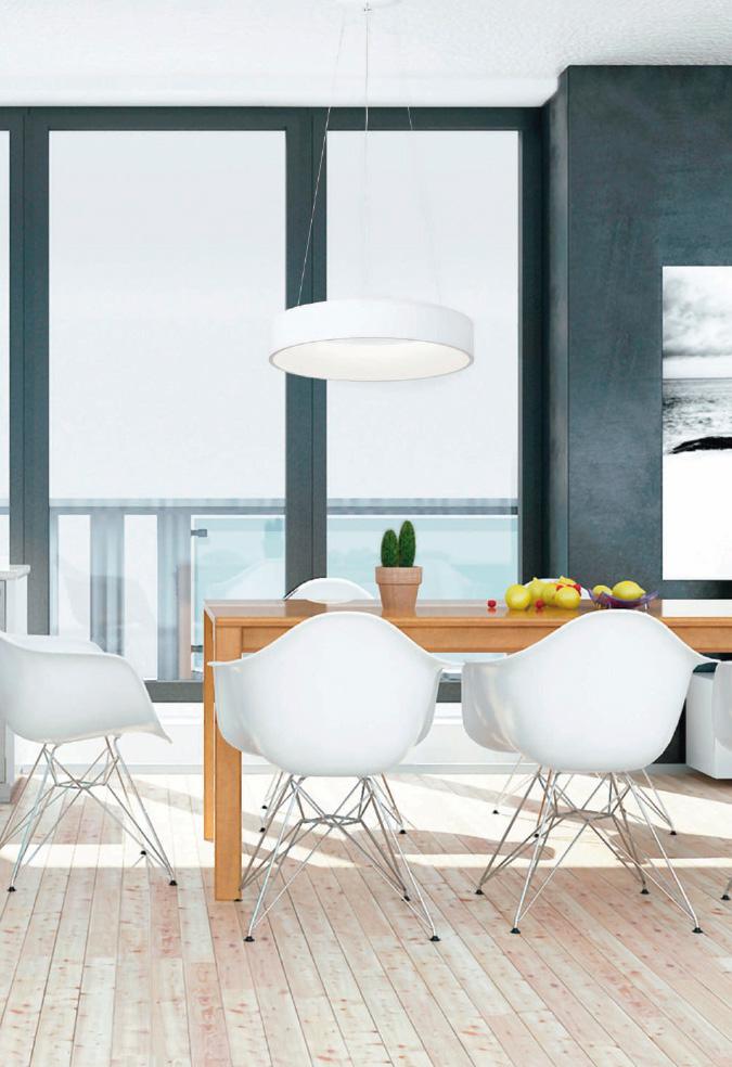 Lamparas de techo para comedor minimalista - Lampara para comedor techo ...