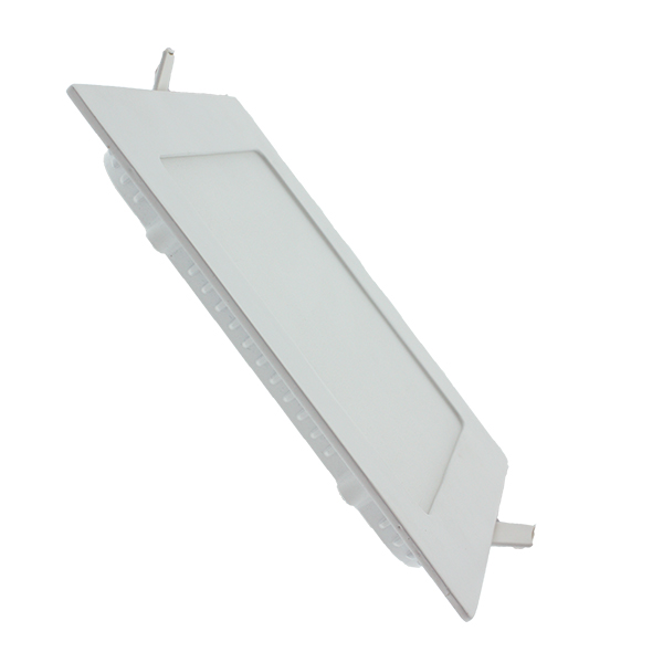 Downlight panel led cuadrado 12w iluminashop - Downlight cocina led ...
