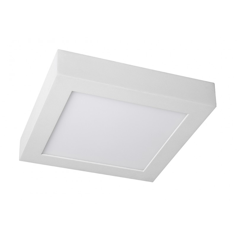 Plaf n led cuadrado 12w iluminashop for Plafones cuadrados de pared