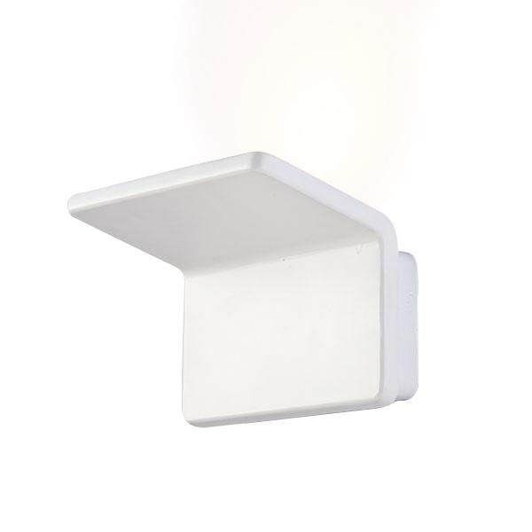 Aplique de pared led double white 20w iluminashop - Apliques pared led ...