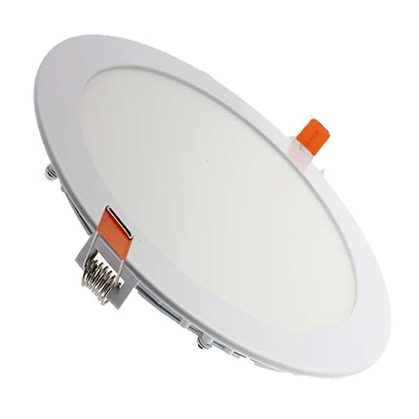 Downlight panel led circular 20w 2000lm iluminashop - Downlight led 20w ...