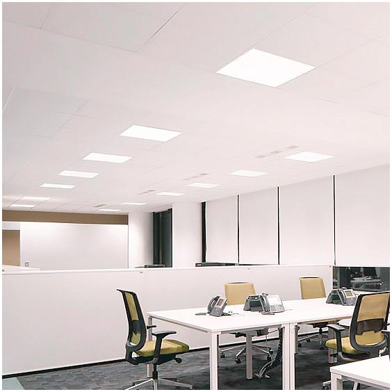 panel led 60x60 cm 36w marco blanco 4000lm high lumen iluminashop. Black Bedroom Furniture Sets. Home Design Ideas