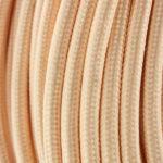 Cable-Textil-Dorado