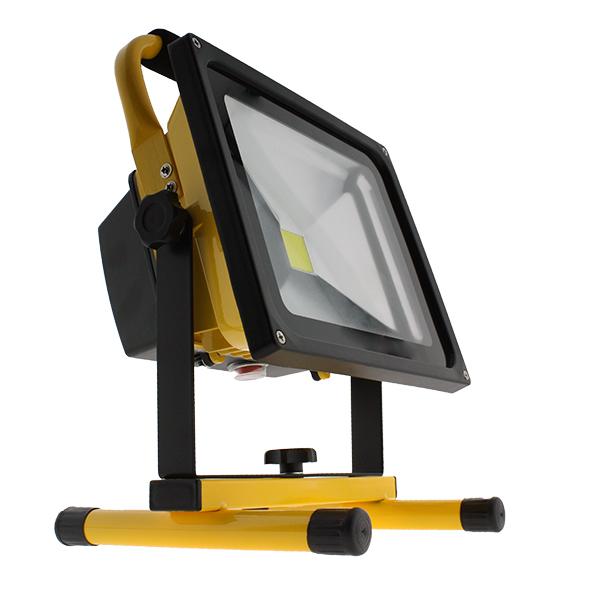 Foco proyector led port til con bater a 20w iluminashop - Foco proyector led ...
