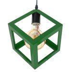 Lampara-de-techo-Cube-green