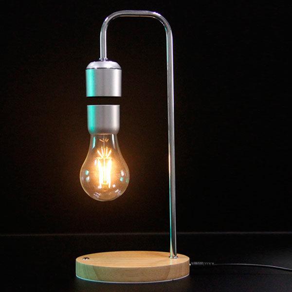 de Levitación Magnética Sobremesa Lámpara con LED 9ED2eWHIbY